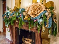 East Room - Take an Exclusive Tour of the White House at Christmas on HGTV