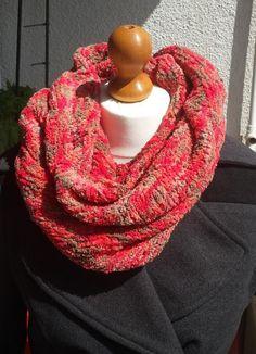 Snood (écharpe tube) multicolore : Echarpe, foulard, cravate par catelyn-boutique