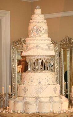 Big Wedding Cakes on Pinterest | Fountain Wedding Cakes, African ...