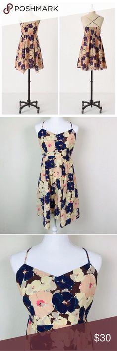 ac34d400afc7e Anthropologie Eloise Early Bird Floral Print Dress Anthropologie Eloise  Early Bird Dress • Women's Size Medium