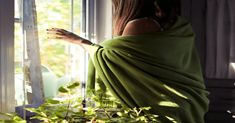 woman standing beside window photo – Free Home decor Image on Unsplash