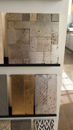 Ann Sacks Metallic Tile Love