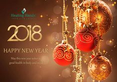 Healing Hands Clinic wishes you a Healthy & Happy New Year.