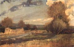 Landscape by Tasos Loukidis Greek Paintings, 10 Picture, Greek Art, Impressionism, Egypt, Scenery, Sky, Fine Art, Autumn