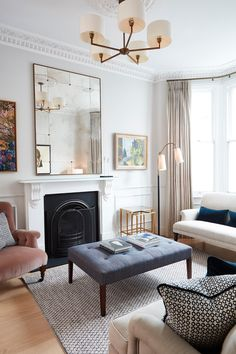 My Living Room, Interior Design Living Room, Home And Living, Living Room Designs, Living Room Furniture, Home Furniture, Interior Decorating, Business Furniture, Mirrored Furniture