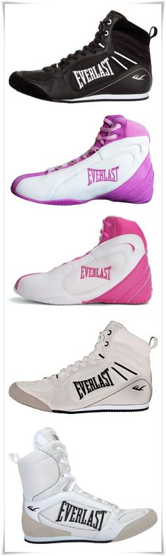 Everlast Boxing Shoes for Women. Work Out Boots, wrestler style