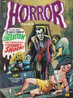 Cover for Horror Tales (Eerie Publications, 1969 series) #v4#4