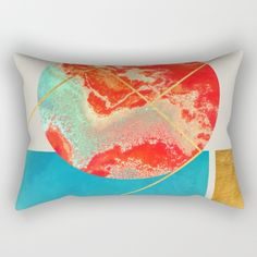 Earth & Sea #society6 #decor #buyart Rectangular Pillow