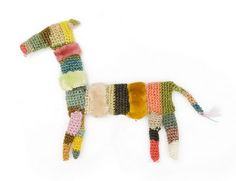 crochet brooches by Sophie Digard ~ emma lamb