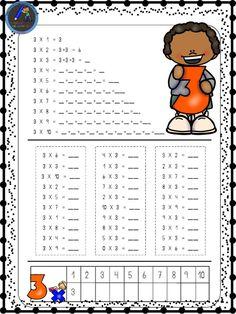 Hojas para repasar las tablas de multiplicar - Imagenes Educativas Money Worksheets, School Worksheets, School Resources, Worksheets For Kids, Teaching Multiplication, Teaching Math, Math Exercises, Ard Buffet, English Grammar Worksheets