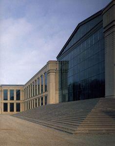 Swift Headquarters in La Hulpe, Belgium - Ricardo Bofill Taller de Arquitectura | Archinect