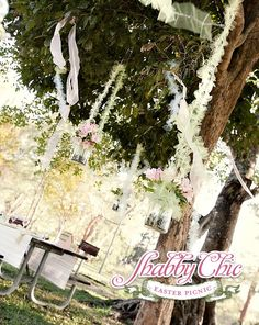 Shabby Chic Easter Picnic
