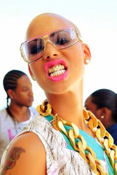 Amber Rose and her grill