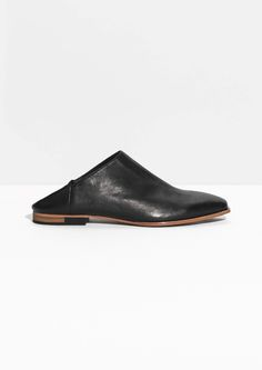 & Other Stories | Textured Leather Flats