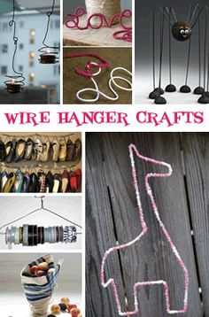 No more wire hangers...! | Great ideas | Pinterest | Wire, No more ...