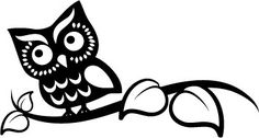 Smart Owl Wall Art Design by TrendyWallDesigns on Etsy