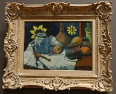 Paul Gauguin Still Life with Teapot and Fruit Oil on canvas