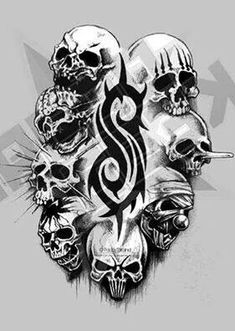 Slipknotskulls..Epic!!!!!                                            I LOVE IT!!!!!!!!!!