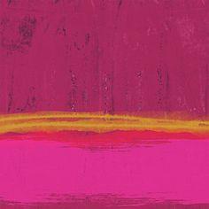 Undaunted Pink Abstract- Art By Linda Woods Art Print by Linda Woods