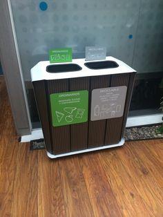 INTERIORES - Diseño de Puntos Ecológicos y Canecas para Reciclar