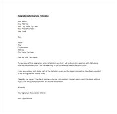 13 best resignation template images resignation template letter