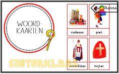 Juf Shanna: Thema Sinterklaas: woordkaarten