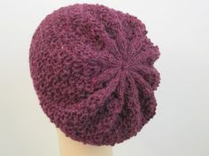 Oopsie Daisy Diagonal Hat Balls to the Walls Knits, A collection of free one- and two- skein knitting patterns