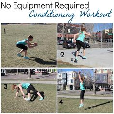 No Equipment Required 10-or 20-Minute Conditioning Boot Camp Workout