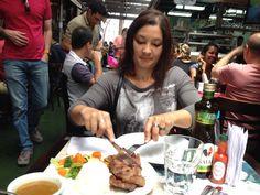 Almoçando no mercado municipal, muuuuita fome!!!!!!!