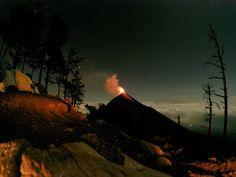 Acampada de fuego