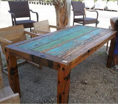 11 DIY Outdoor Table And Bench Design | DIY to Make