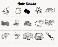 Professora Dinna: Auto Ditado - Atividade de Língua Portuguesa 2ºano