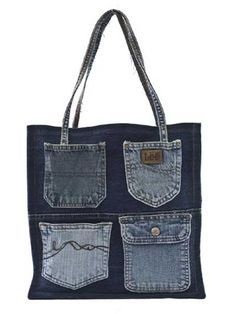 Double Green Shopping Bag Sewing Pattern