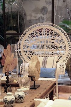 Bondian Living - Shopping Tipp Mallorca Palma Peacock Chair