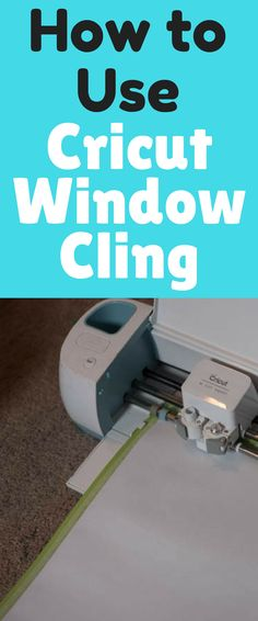 Window Calendar Tutorial with Cricut Window Cling It's been awhile since I've done a Cricut post, so I'm excited to be partnering with Cricut
