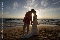Maui Beaches at Sunset islandweddingmemories.com  #mauiweddings #sunsetweddings #mauisunsetweddings #beach #mauibeaches #mauibeachweddings #sunset