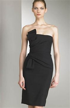 Ruffles Short Strapless Sheath Little Black #Dress Style Code: 00182 $69