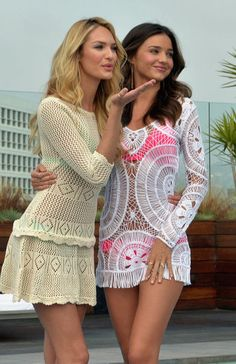 Miranda Kerr Photos - Victoria's Secret Angels Candice Swanepoel and Miranda Kerr Launch The 2012 VS Swim Collection at The Thompson Hotel on March 2012 in Beverly Hills, California. - Miranda Kerr and Candice Swanepoel Launch the 2012 VS Swim Collection Miranda Kerr Bikini, White Swimsuit, Swimsuit Cover, Candice Swanepoel, Victoria Secret Bademode, Looks Style, My Style, Boho Style, Love Fashion