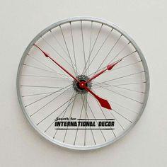 Clocks made om rims