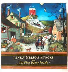Boo Puzzle - Linda Nelson Stocks - 750 Piece - Sealed - Halloween  #Ceaco