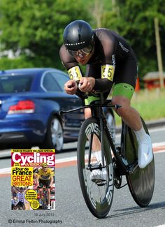 Supplied image to Cycling Weekly - National 100 Time Trial Championships. Mark Holton.