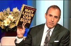 Not Fake News!! Matt Lauer fired for Inappropriate sexual behavior in the workplace! Happy early Christmas everyone! #fakenews #maga #trumpwon #msm #draintheswamp #trumptrain #yourfired #fired