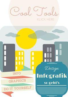 Infografiken erstellen – mit einigen Tools klappt's schnell und einfach. #Infografik #Infographics #Illustration