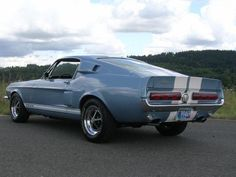 1967 Shelby GT 500 brittany blue
