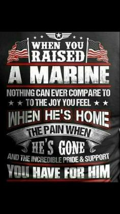 My son is coming HOME❤️ (:Tap The LINK NOW:) We provide the best essential unique equipment and gear for active duty American patriotic military branches, well strategic selected.We love tactical American g Marine Mom Quotes, Marine Corps Quotes, Usmc Quotes, Quotes Quotes, Military Quotes, Crush Quotes, Proud Of My Son, Proud Mom, Marines Boot Camp