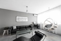 apartment minimalist Andreja Bujevac 51 Minimalist Apartment Housing Iconic Furniture Pieces by ArhitekturaBudjevac