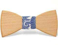 """""""Emery"""" - Unique handcrafted wooden bow tie by the Two Guys Bow Tie Co..."""