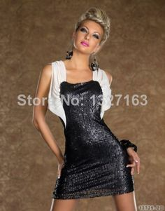 Find More Apparel   Accessories Information about C6067 2014 Free Shipping  new women sexy dresses woman party dresses bodycon black White dresses  night club ... 0ca271ca43f0