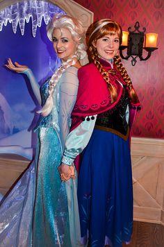 Elsa and Anna | Flickr