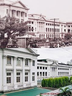 La Salle Hall, 1924 x — The De la Salle College St. La Salle Hall is an H-shaped four-storey structure built in neoclassical style, designed by Tomas Mapua. Neoclassical, Present Day, Manila, 2000s, Philippines, College, Building, Vintage, Design